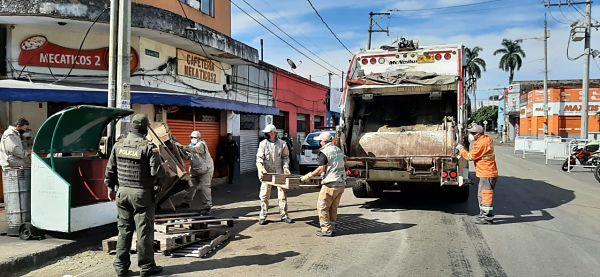 Recuperan el centro de Medellín