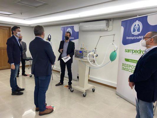 Presidente Duque, Conoció Ventiladores Para Pacientes Covid-19, Con Tecnología Paisa.