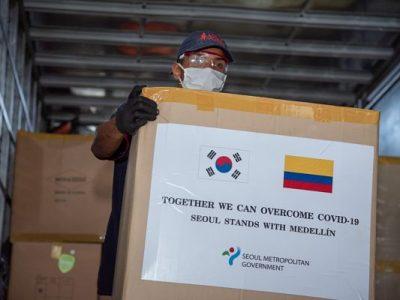 Gobierno De Seúl Entregó Importante Donación A La Ciudad De Medellín