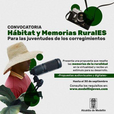 """Abre Convocatoria """"Hábitat Y Memorias Rurales"""" Para Las Juventudes De Los Corregimientos"""