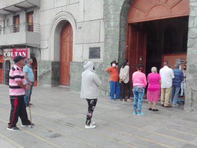 Felices Por Que Ya Esta Abierta La Parroquia De San Antonio De Prado