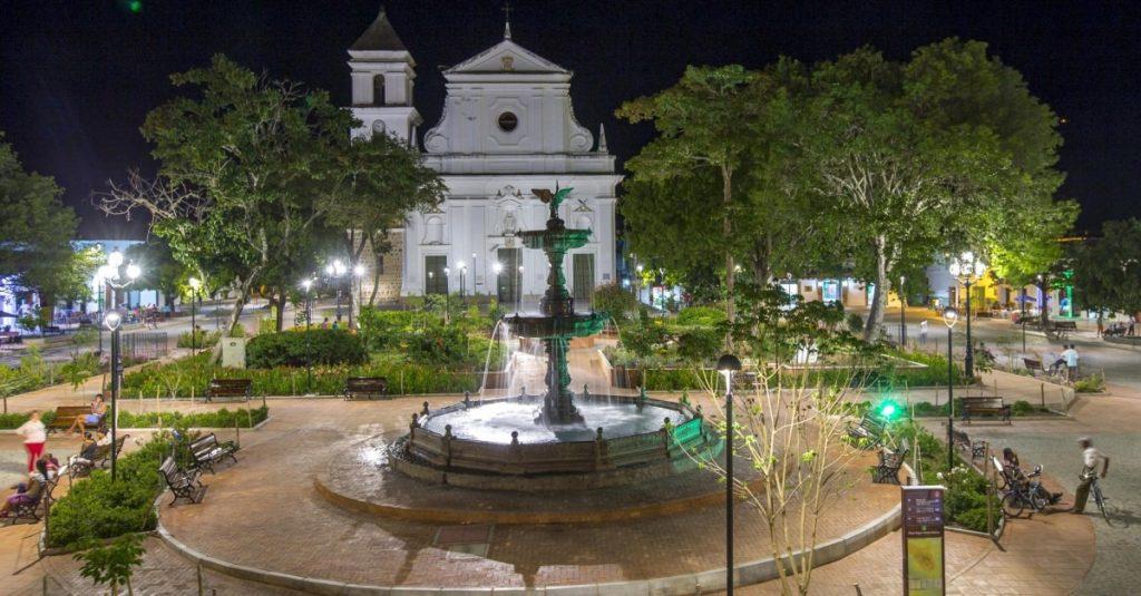 Parque de Santa Fe de Antioquia