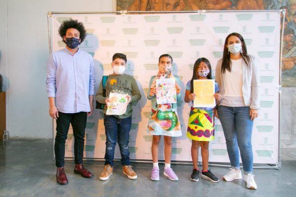 Medellín, Reconoce La Labor De Los Niños En El Concurso De Cuento Ilustrado
