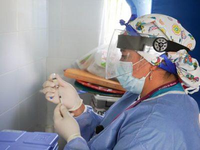Hace Pocas Horas Finalizó Vacunación Contra El Covid-19 Del Primer Lote Entregado Por El Gobierno Nacional