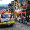 Bomberos Medellín incendio Buenos Aires