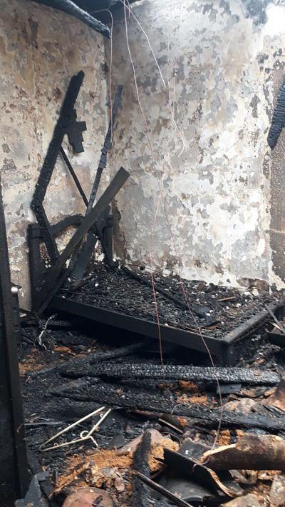 Incendio en casa Cural de San Antonio de Prado2.