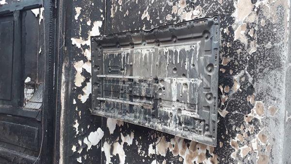 Incendio en casa Cural de San Antonio de Prado6.