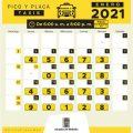 Pico y placa Taxis 2021 en Medellín