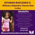 Se Busca Wilmary Alejandra Chacoa