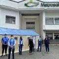 Donación de 30 unidades de alojamiento para expansión de servicios recibe Metrosalud