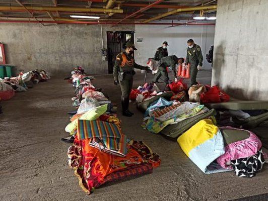 Así Fue La Jornada De Aseo En La Estación De Policía De San Antonio De Prado