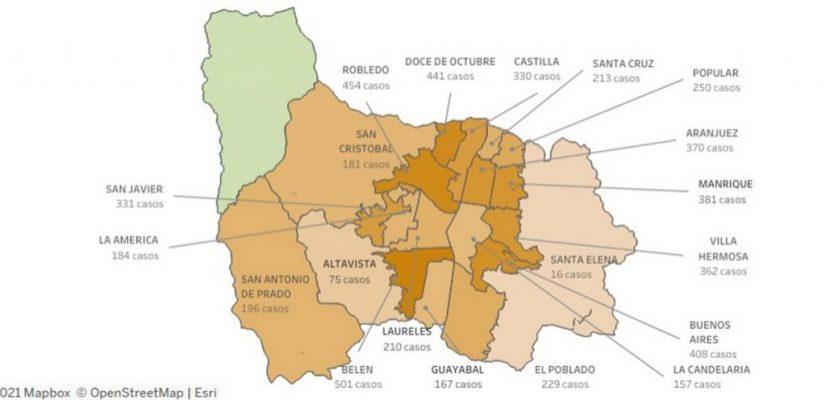 ¡A Cuidarnos! Siguen Los Aumentos De Covid19, San Antonio De Prado, Lidera Casos En Los Corregimientos.