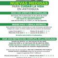 Medidas y rerstricciones en Antioquia pico y cédula y toque de queda
