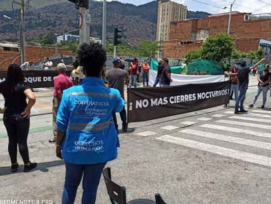 Personería Brinda Acompañamiento A Protestas De Comerciantes Del Corredor Turístico De Ayacucho