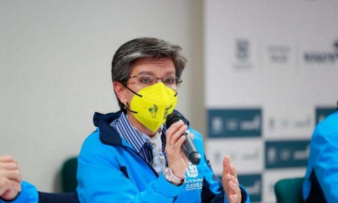 La Alcaldesa De Bogotá Informa Que No Se Va A Militarizar La Ciudad, Pero Pidió Ayuda Al Ejercito Por La Seguridad.
