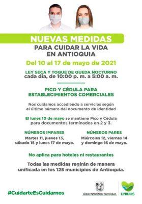 Pico Y Cédula Para El Día Lunes 10 De Mayo En Medellin Y El Valle De Aburrá