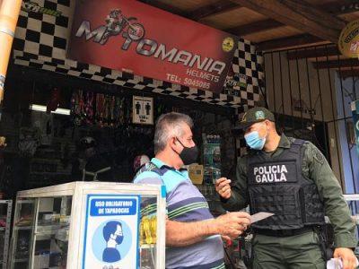 Gaula Adelantó Jornada De Prevención Contra La Extorción En San Antonio De Prado