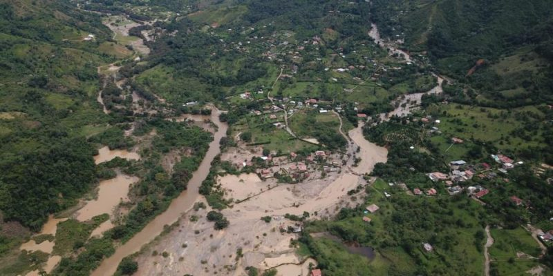 Preocupación En Antioquia Por Las Fuertes Lluvias.