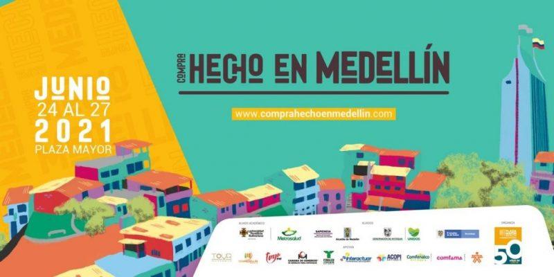 """Feria """"Compra Hecho En Medellín"""", Se Desarrolla En Plaza Mayor"""