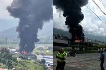 Tras Incendio En Bodega Invesa En Girardota Deja Tres Muertos.