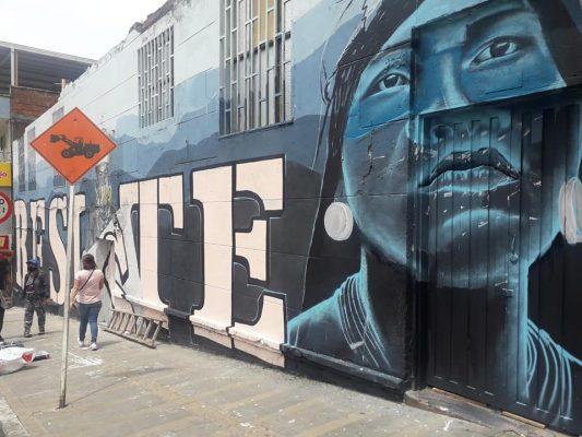 El Mural De La Resistencia En San Antonio De Prado