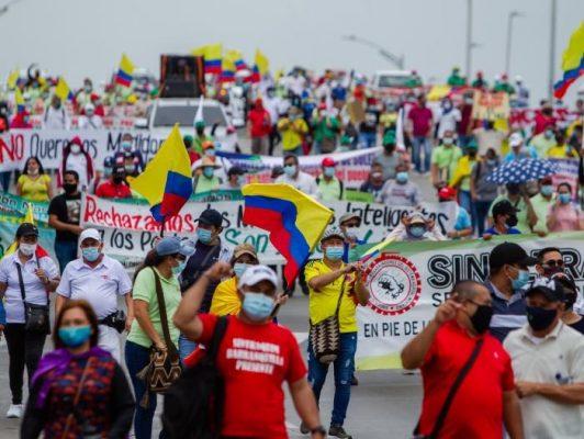 Amenazas De Violencia En Protestas Para El 20 De Julio