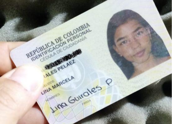 Se Encontró La Cédula De Lina Marcela Guirales Peláez