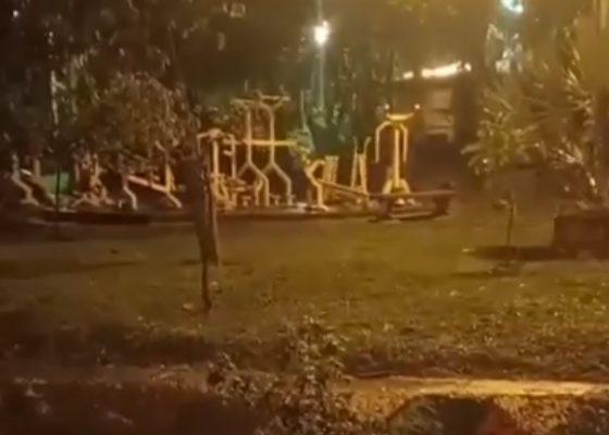 En El Parque Del Barrio Alfonso López, ¿los Fantasmas Hacen Ejercicio?