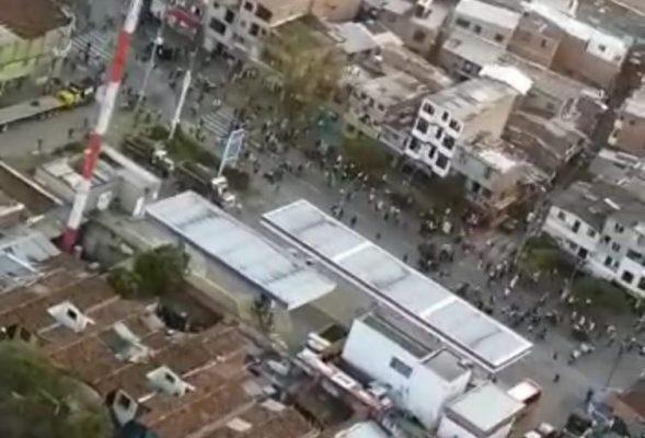 En Medio De Nuevas Manifestaciones En Medellín Joven Pierde Un Ojo.