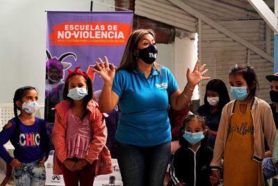 Se Pusieron En Marcha Las Siete Escuelas De La No-Violencia De La Ciudad