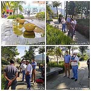 Mantenimiento Y Reparación De La Fuente De Agua Del Parque De San Antonio De Prado Es Una Realidad