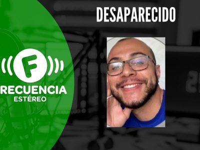 Gino Alejandro Vélez García, Se Encuentra Desaparecido
