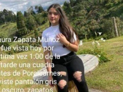 ¡Su Familia La Busca! Laura Zapata Muñoz Se Encuentra Desaparecida.