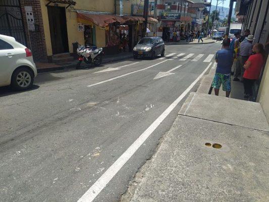 Accidente En San Antonio De Prado,deja A Mujer Gravemente Herida.