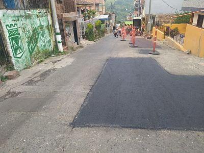 Pavimentación De Vías En La Calle 41 Sur, Sector Las Escalas