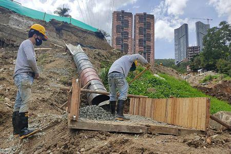 Inicia Construcción De Túnel En La Quebrada El Indio, Sector De Las Palmas