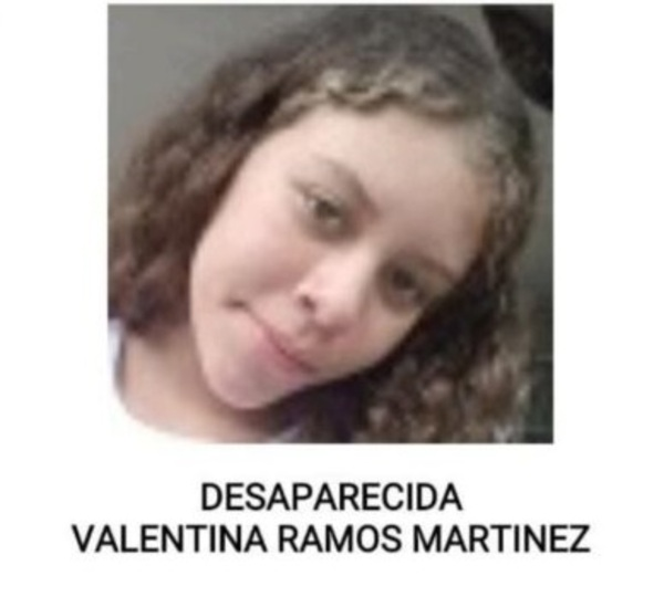 Valentina Ramos Martinez desaparecida