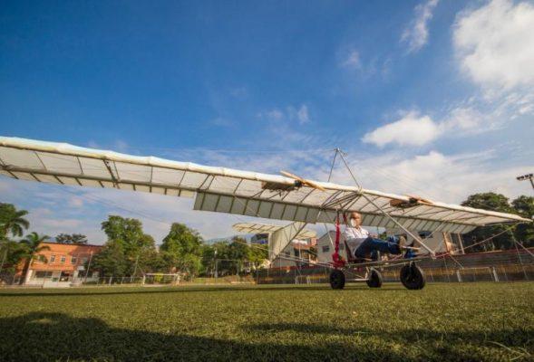 Primer Avión Eléctrico En Colombia Se Construyó En Medellín.