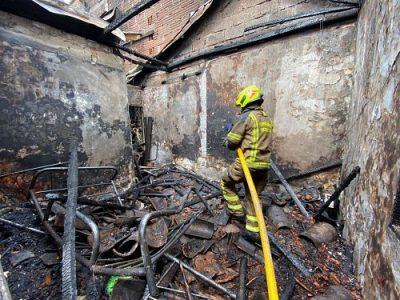 Más De 290 Incendios Han Sido Atendidos Por Bomberos Medellín Durante 2021