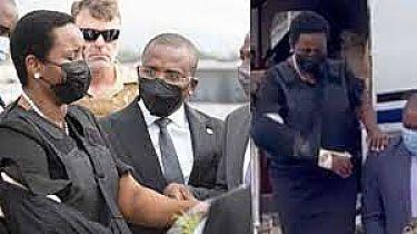 Primera Dama Regresa A Haití