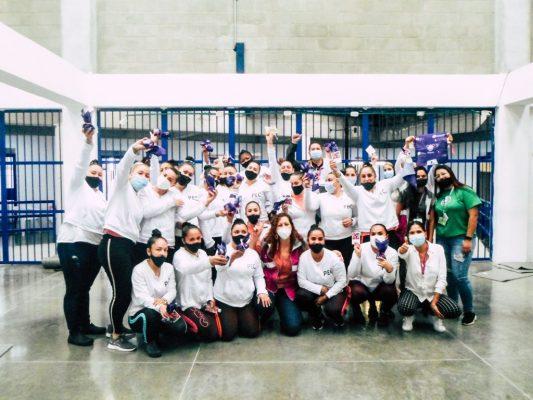 Charlas De Salud Menstrual Para Mujeres De La Cárcel De Pedregal.