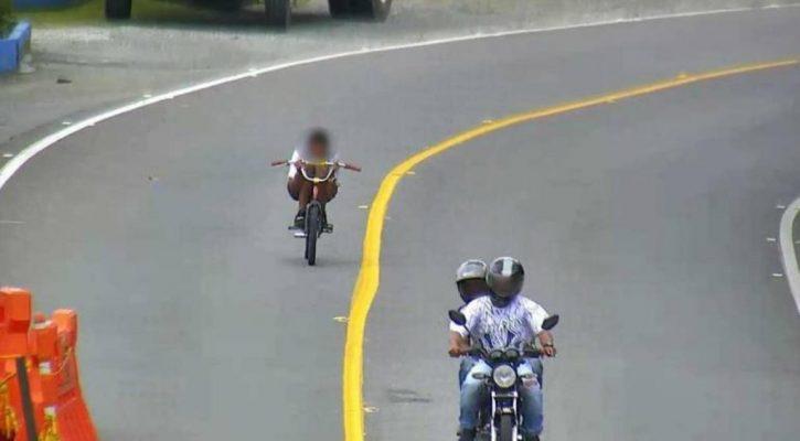 Joven Sufre Grave Accidente Al  Practicar Gravity Bike En Vía Del Oriente Antioqueño.