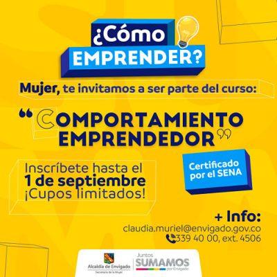"""""""Comportamiento Emprendedor"""" Una Oportunidad Para La Mujer Envigadeña"""
