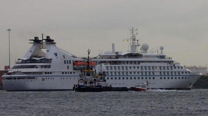 Tras 17 Meses De Pandemia El Primer Crucero Atracó Este Martes En El Puerto De Cartagena De Indias
