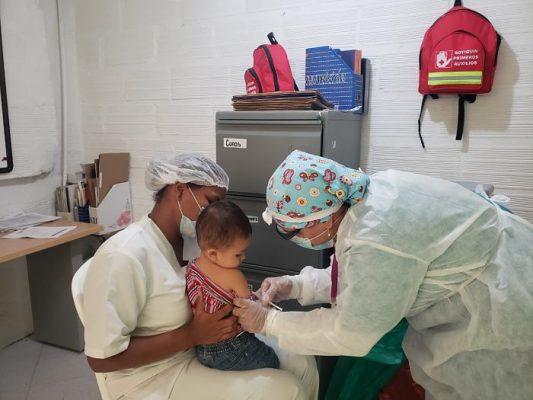 Niños Y Niñas De Buen Comienzo Serán Vacunados