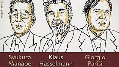Tres Científicos Ganadores De Premios Nobel Por Investigaciones Sobre El Cambio Climático