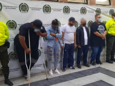 Cinco Capturados Perteneciente A  La  Red Dedicada Al Hurto De Celulares En El Centro De Medellín.