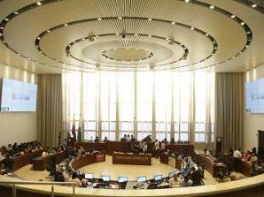 Plenaria del Concejo de Medellín, analizó avance de infraestructura educativa.