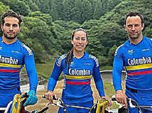 Colombianos sobresalen en BMX en juegos Olímpicos 2020