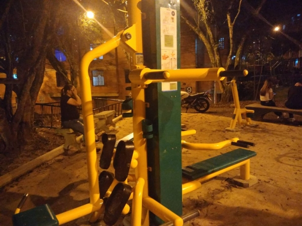 Compartir en San Antonio de Prado ya cuenta con gimnasio al aire libre